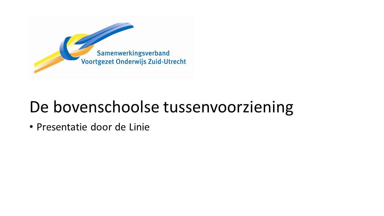 Website Samenwerkingsverband VO Zuid-Utrecht www.samenwerkingsverband-zuid-utrecht.nl