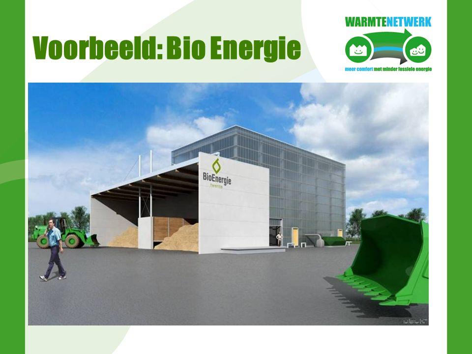 Voorbeeld: Bio Energie