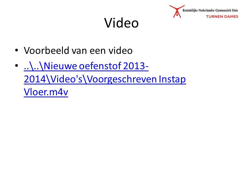 Video Voorbeeld van een video..\..\Nieuwe oefenstof 2013- 2014\Video s\Voorgeschreven Instap Vloer.m4v..\..\Nieuwe oefenstof 2013- 2014\Video s\Voorgeschreven Instap Vloer.m4v