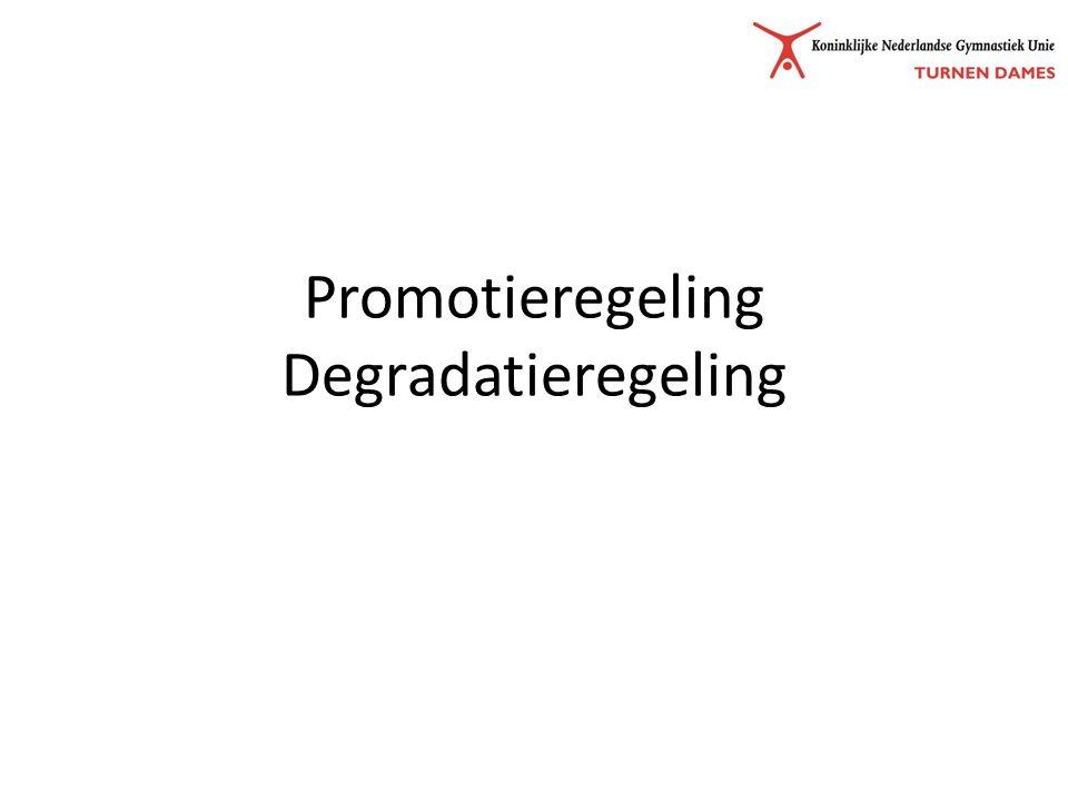 Promotieregeling Degradatieregeling