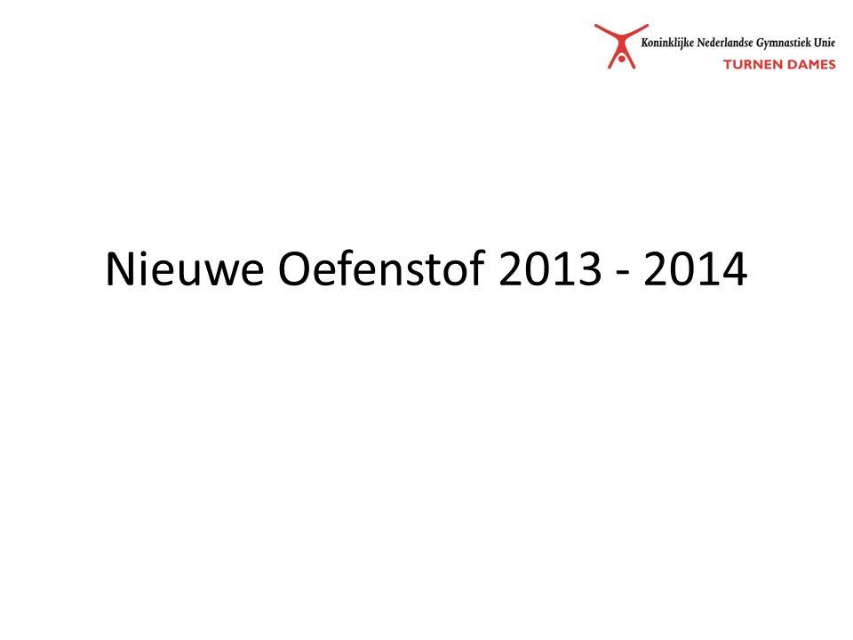 NTS 2013 - 2014 Wedstrijdopzet Oefenstof Jurybepalingen Toestelbepalingen & Overgang P/D-regeling Wedstrijdopzet vanaf 2014 Juryopleidingen en bijscholing