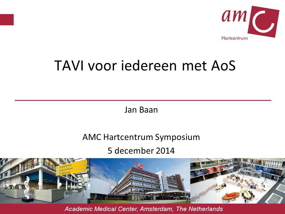 Wie van u zou –op indicatie- een TAVI verkiezen boven conventionele aortaklepvervanging?