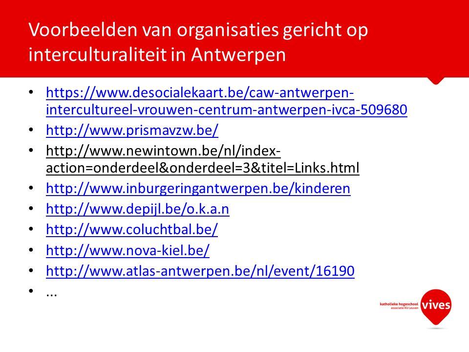 https://www.desocialekaart.be/caw-antwerpen- intercultureel-vrouwen-centrum-antwerpen-ivca-509680 https://www.desocialekaart.be/caw-antwerpen- intercultureel-vrouwen-centrum-antwerpen-ivca-509680 http://www.prismavzw.be/ http://www.newintown.be/nl/index- action=onderdeel&onderdeel=3&titel=Links.html http://www.inburgeringantwerpen.be/kinderen http://www.depijl.be/o.k.a.n http://www.coluchtbal.be/ http://www.nova-kiel.be/ http://www.atlas-antwerpen.be/nl/event/16190...