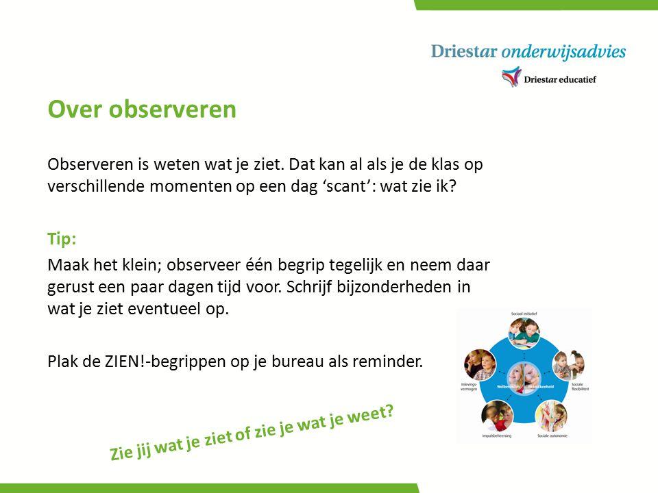 De ZIEN!- dimensies Graadmeters (2) en sociale vaardigheden (5)