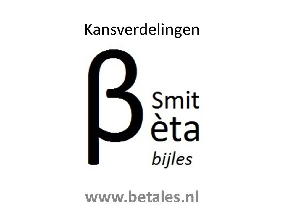 Kansverdelingen www.betales.nl