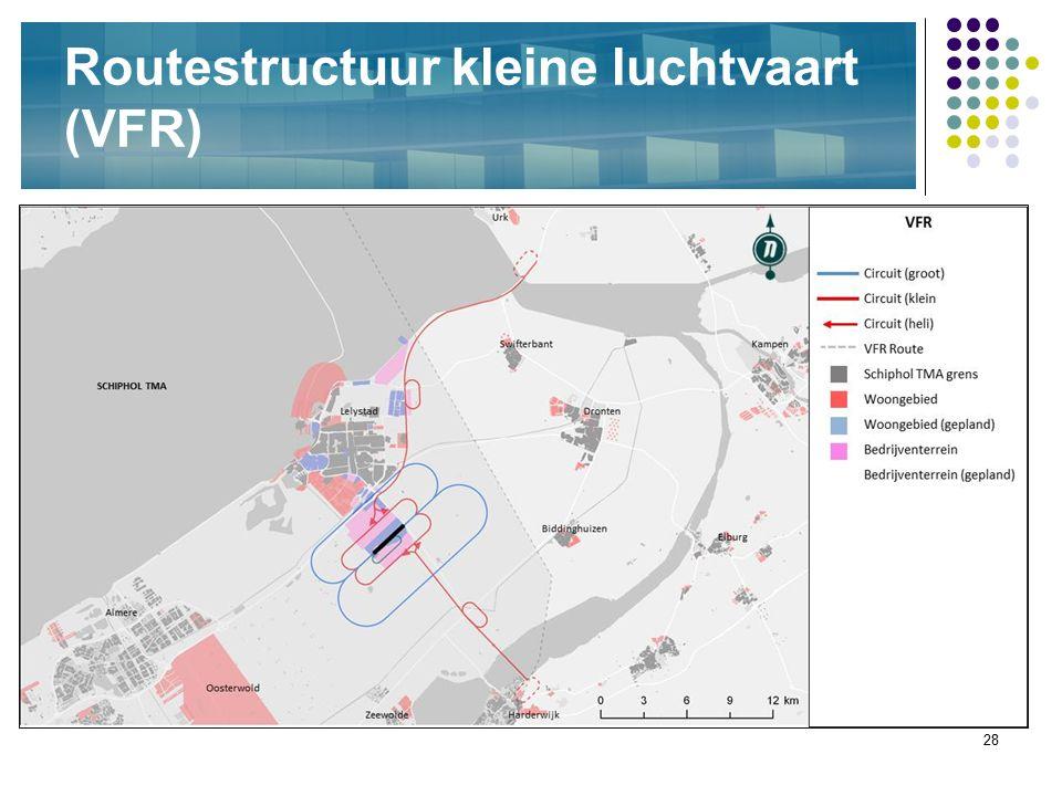 28 Routestructuur kleine luchtvaart (VFR)