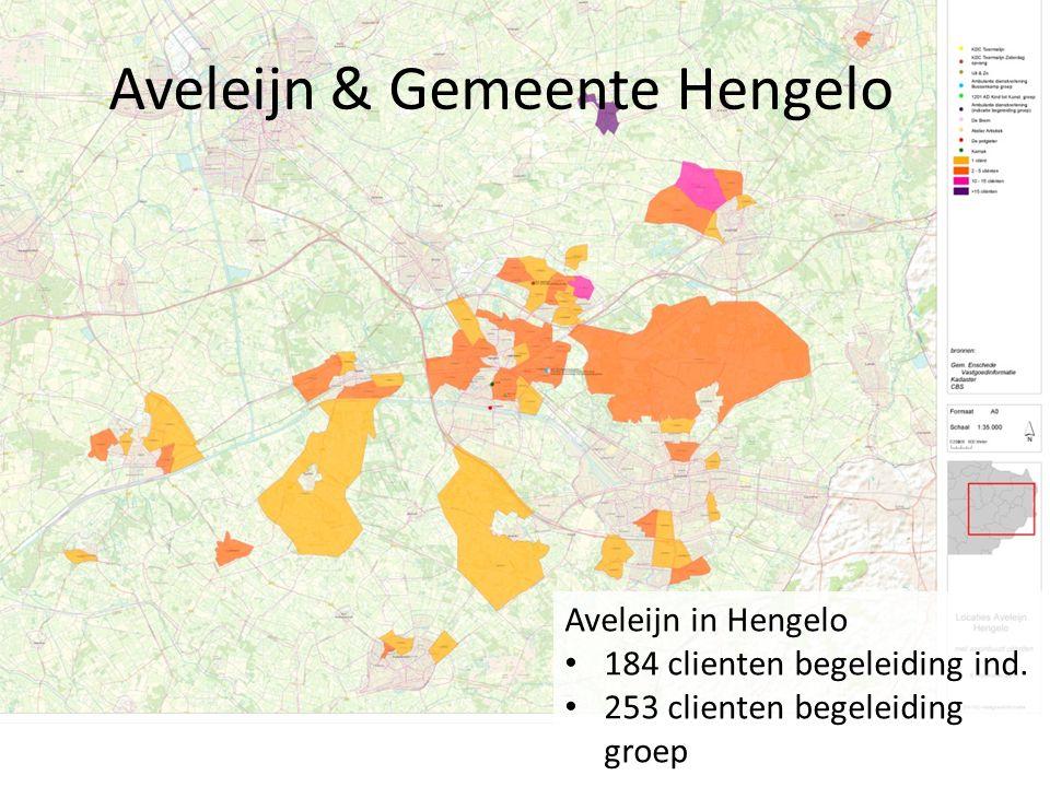 Aveleijn & Gemeente Hengelo Aveleijn in Hengelo 184 clienten begeleiding ind.