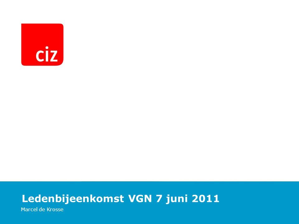 Ledenbijeenkomst VGN 7 juni 2011 Marcel de Krosse