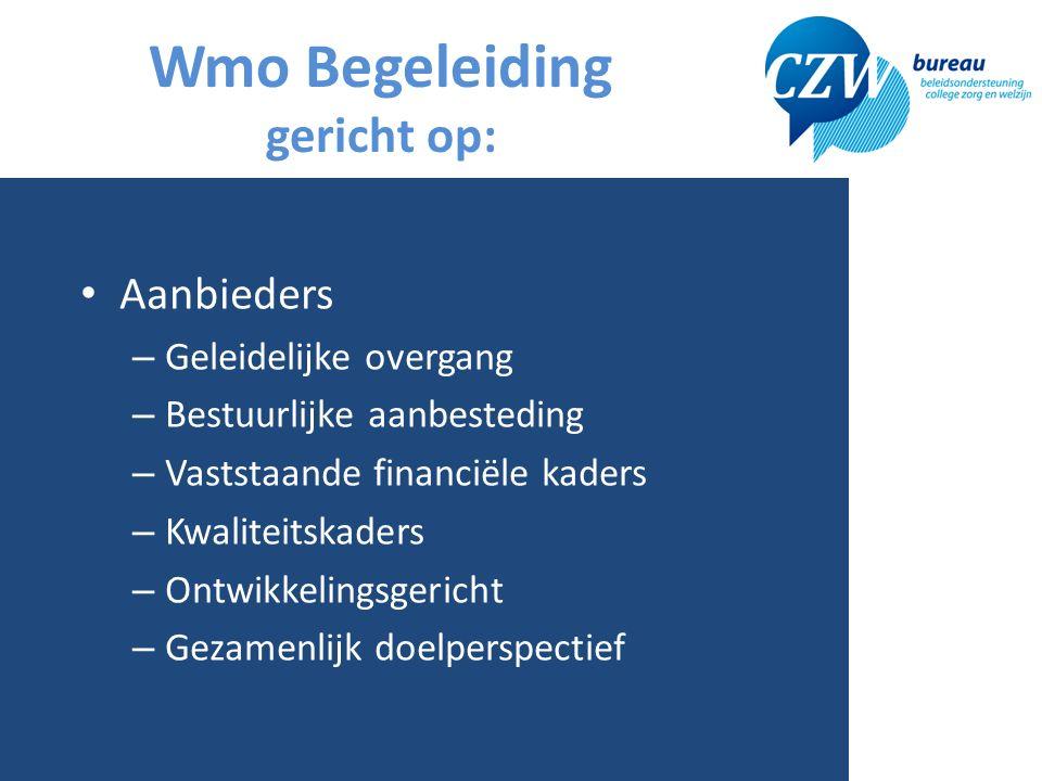 Praktische uitwerking 8 Inzet = Per regio projectleider Provinciaal transitie team Ondersteund door CZW bureau In overleg met aanbieders Lokaal, regionaal en provinciaal Stappenplan en uitvoeringsplan