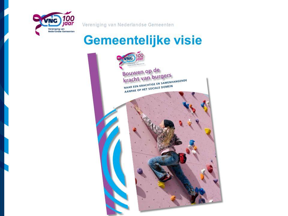 Vereniging van Nederlandse Gemeenten Gemeentelijke visie