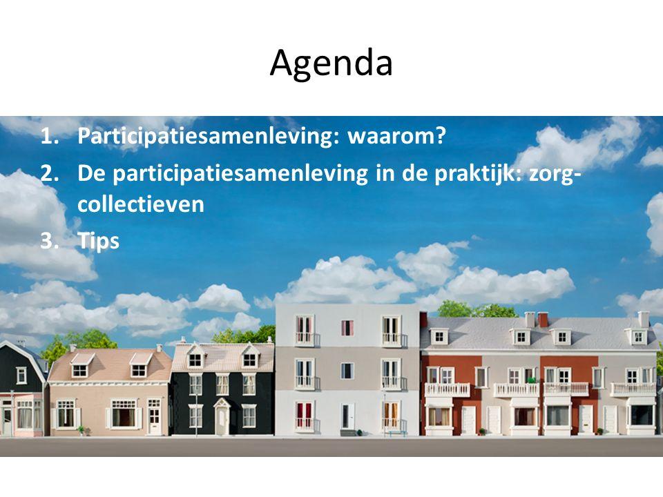 Agenda 1.Participatiesamenleving: waarom.