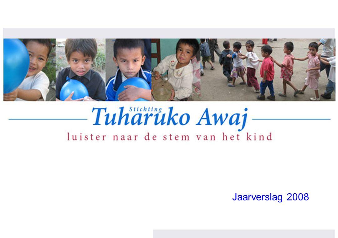 Overzicht projecten in Nepal 2008/2009 / 32 Financieel overzicht: buffer opgebouwd om continuïteit weeshuis te waarborgen € 37.850 Weeshuis (incl.