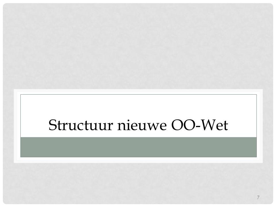 7 Structuur nieuwe OO-Wet