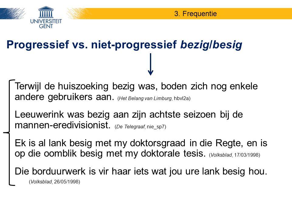 Terwijl de huiszoeking bezig was, boden zich nog enkele andere gebruikers aan. (Het Belang van Limburg, hbvl2a) Leeuwerink was bezig aan zijn achtste