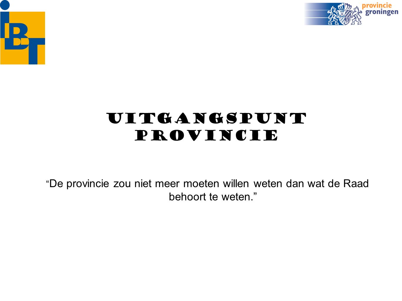 terreinen Toezicht provincie o.a.
