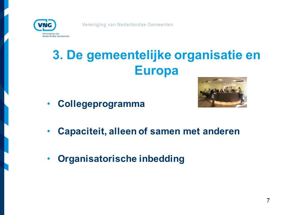 Vereniging van Nederlandse Gemeenten 3.