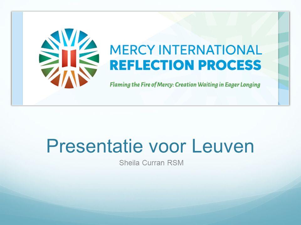 Presentatie voor Leuven Sheila Curran RSM