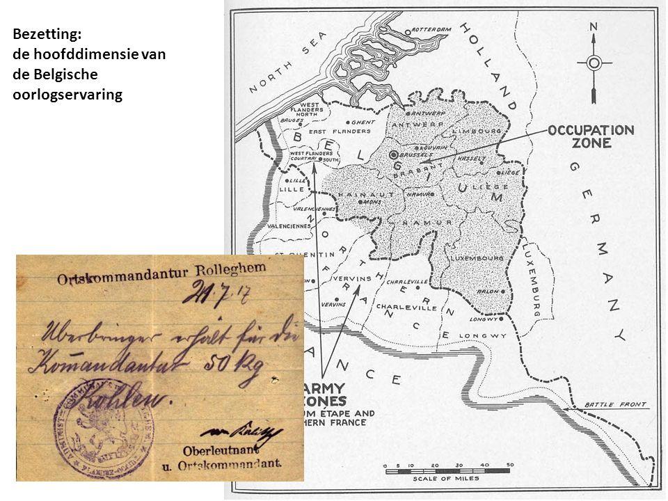 Bezetting: de hoofddimensie van de Belgische oorlogservaring