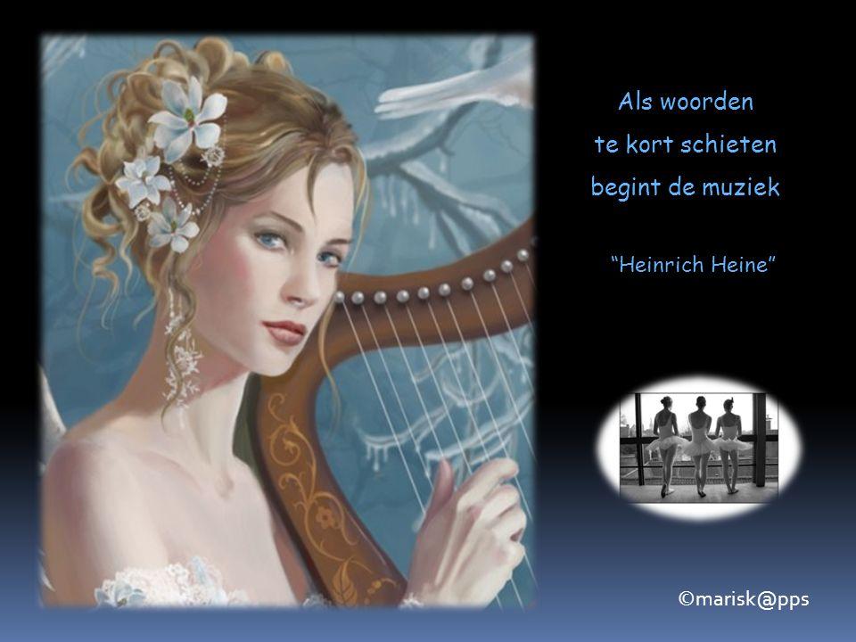 Wat de arts is voor het lichaam,is de muziek voor de ziel Aristoteles