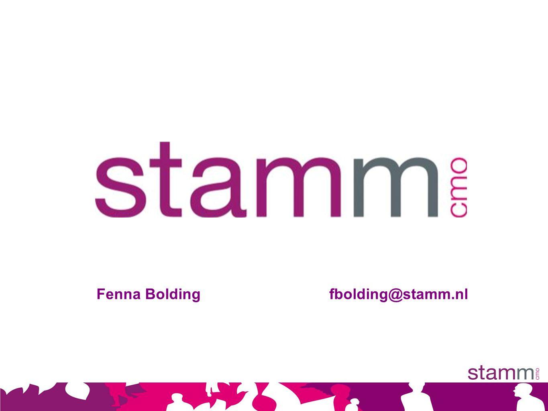 Fenna Bolding fbolding@stamm.nl
