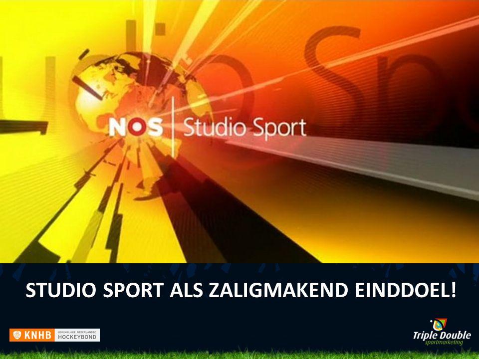 STUDIO SPORT ALS ZALIGMAKEND EINDDOEL!
