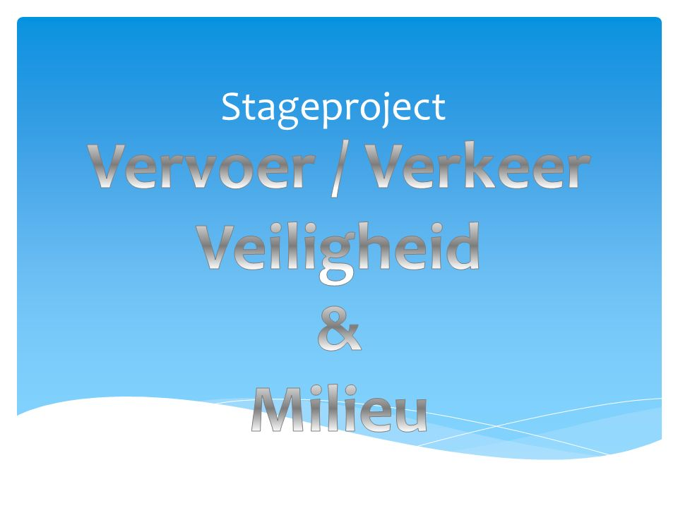 Stageproject