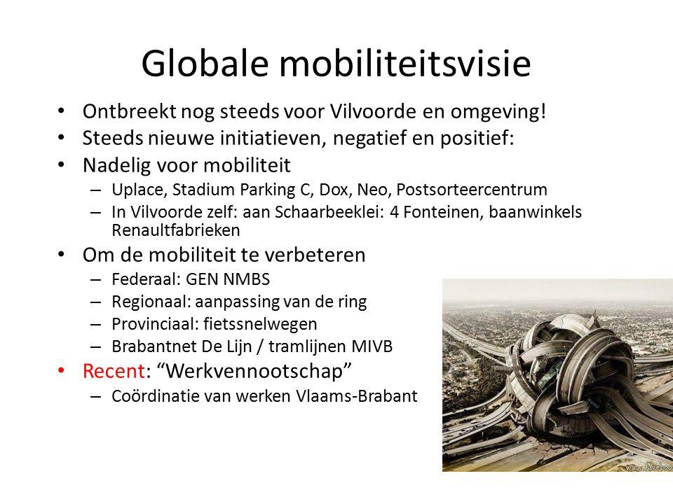 Globale mobiliteitsvisie Ontbreekt nog steeds voor Vilvoorde en omgeving.