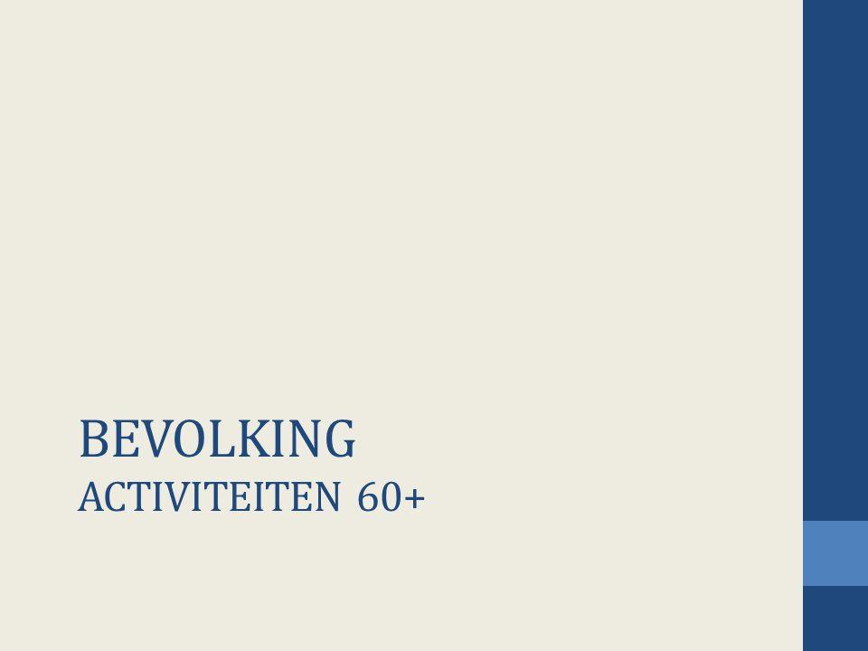 BEVOLKING ACTIVITEITEN 60+