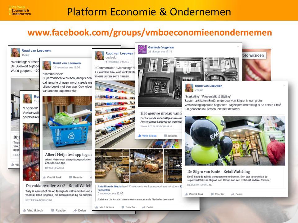 Platform Economie & Ondernemen www.facebook.com/groups/vmboeconomieenondernemen