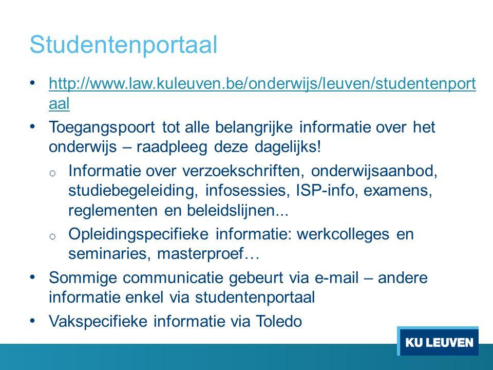 ISP en IER ISP (Individueel StudieProgramma) en IER (= Individueel ExamenRooster): toepassingen in KU Loket - Toledo ISP: vakken aanvinken die je dat academiejaar wil volgen.