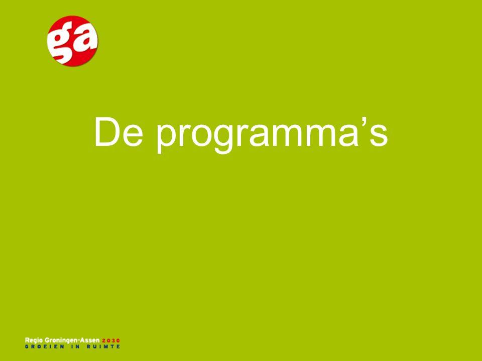 De programma's