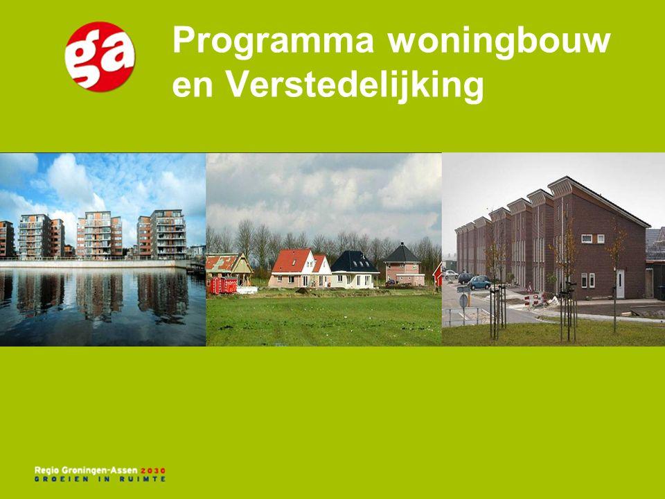Programma woningbouw en Verstedelijking