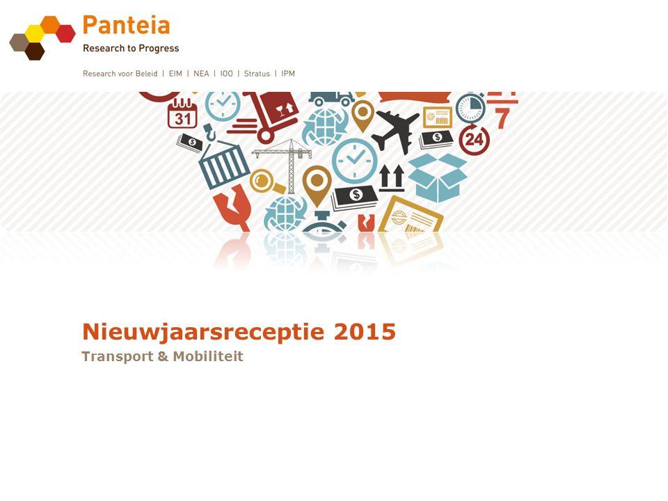 Nieuwjaarsreceptie 2015 Transport & Mobiliteit