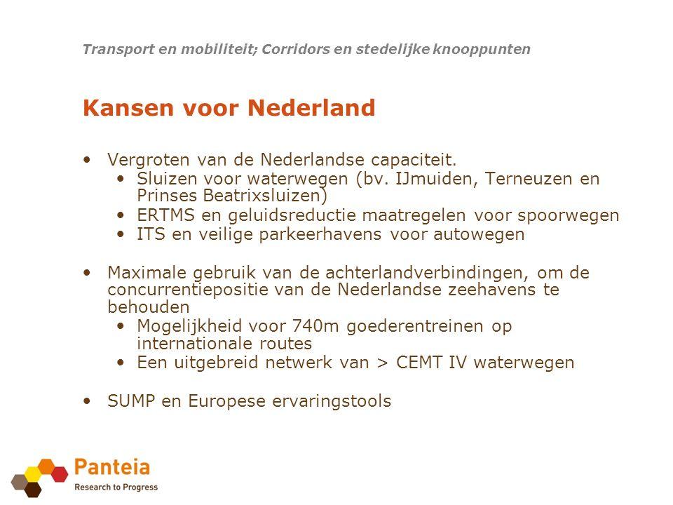 Vergroten van de Nederlandse capaciteit. Sluizen voor waterwegen (bv.