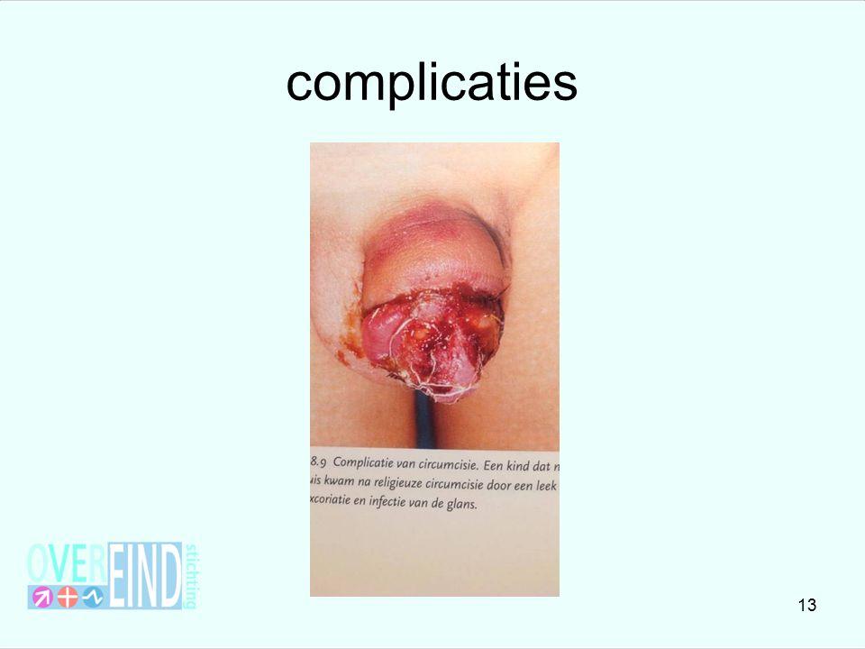 complicaties 13