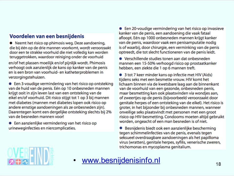 www.besnijdenisinfo.nl 18