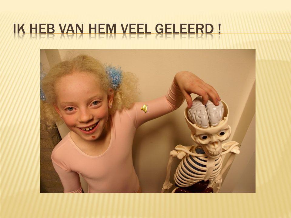 5. Foto's skeletFoto's skelet 6. Mijn bijdrage aan de schoolvisieMijn bijdrage aan de schoolvisie Wij hebben aan het eind van deze cursus onze visie o