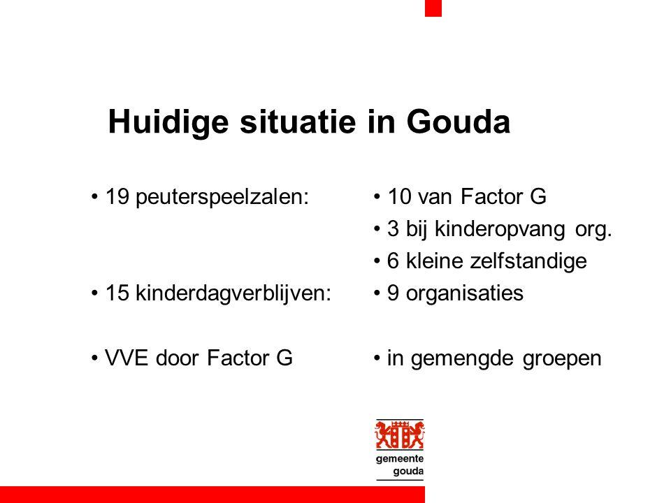 onderzoek huidige situatie voorjaar 2007 medewerking van alle peuterspeelzalen en kinderdagverblijven deelname cijfers van 2- en 3-jarigen deelname per wijk kwaliteitsgegevens