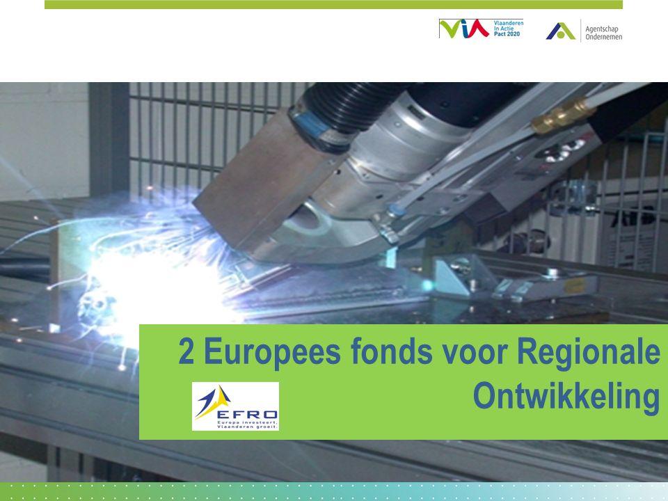2 Europees fonds voor Regionale Ontwikkeling