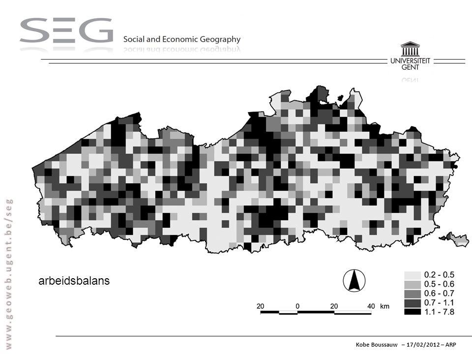 Kobe Boussauw – 17/02/2012 – ARP arbeidsbalans