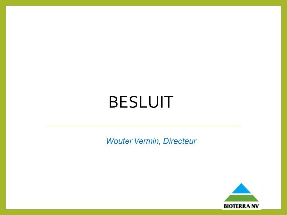 BESLUIT Wouter Vermin, Directeur
