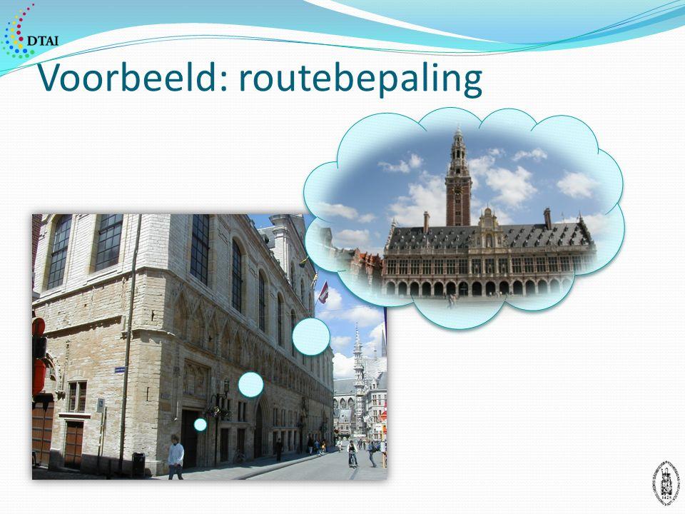 Voorbeeld: routebepaling