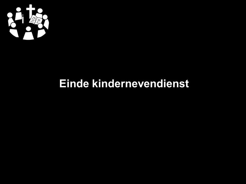 Einde kindernevendienst