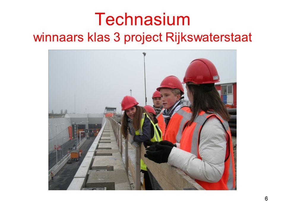 Technasium winnaars klas 3 project Rijkswaterstaat 6