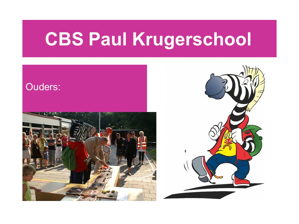 CBS Paul Krugerschool Ouders: