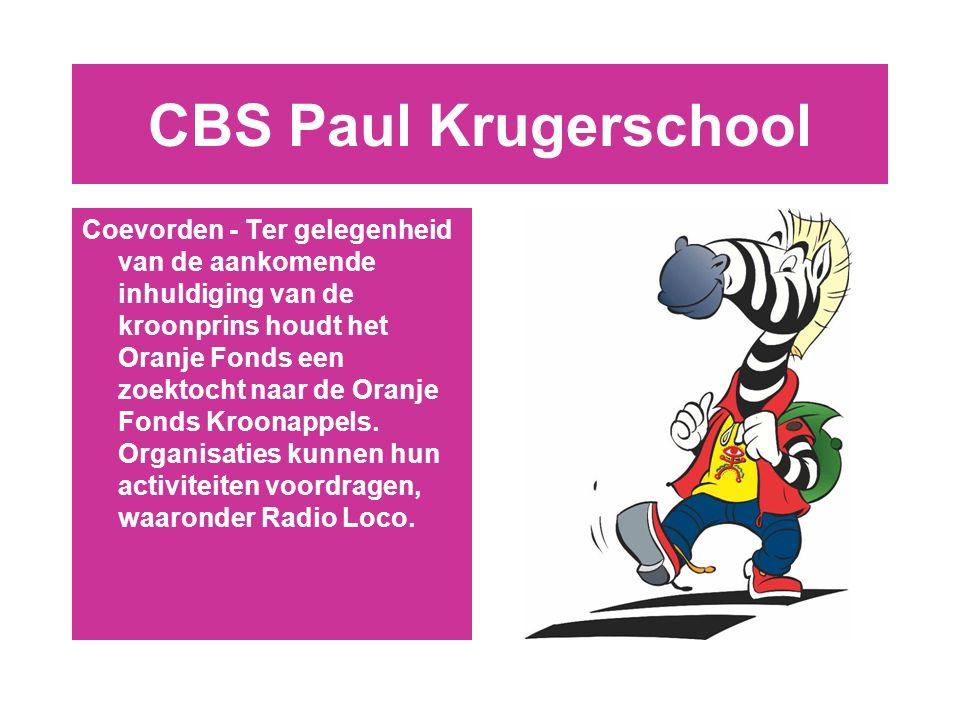 Op weg naar …….. Een veilige CBS Paul Krugerschool