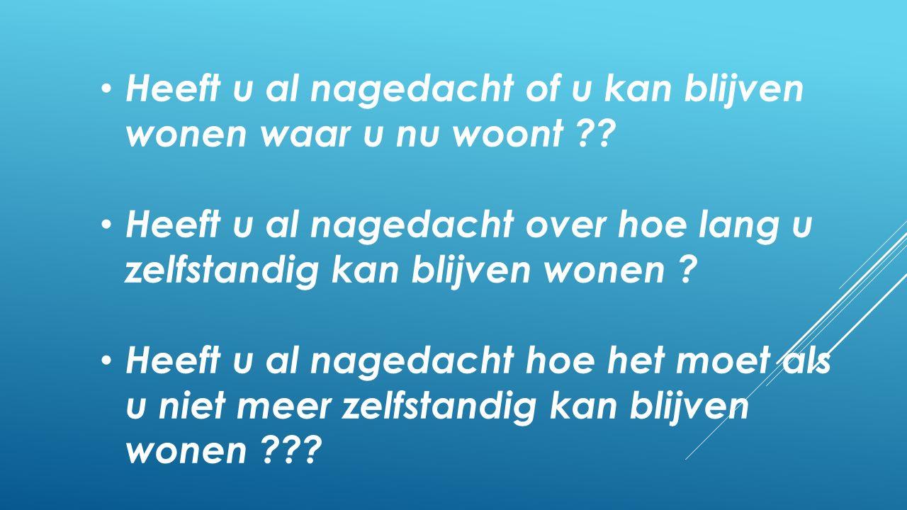 Een aantal samenvattingen Lees het hele rapport, via de website: www.samenmakenwij.nl/pwwzin