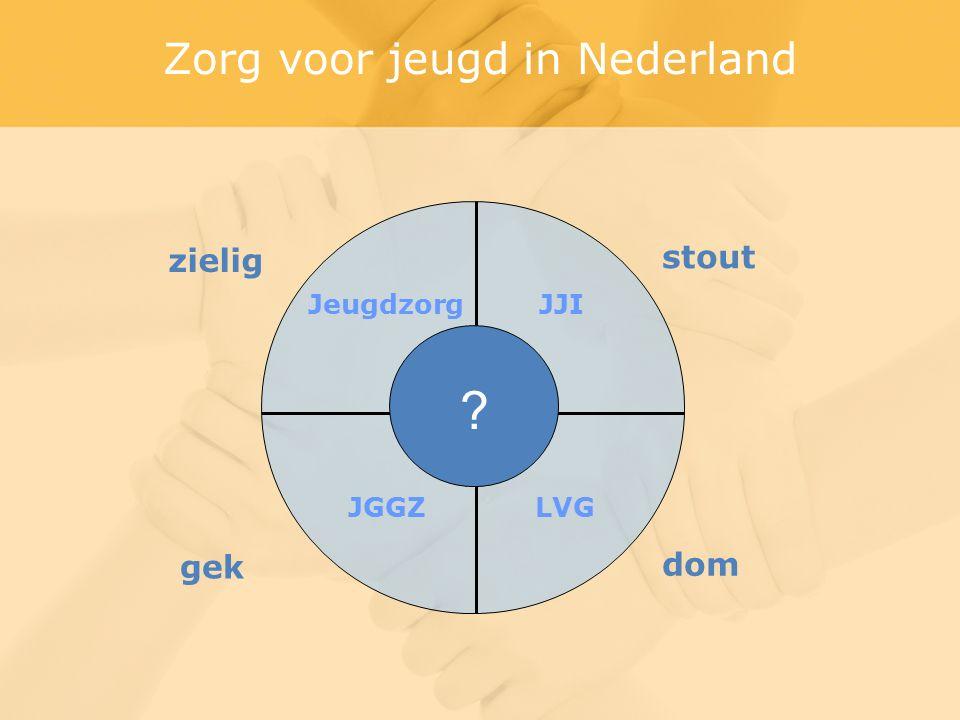 zielig gek stout dom JeugdzorgJJI JGGZLVG Zorg voor jeugd in Nederland
