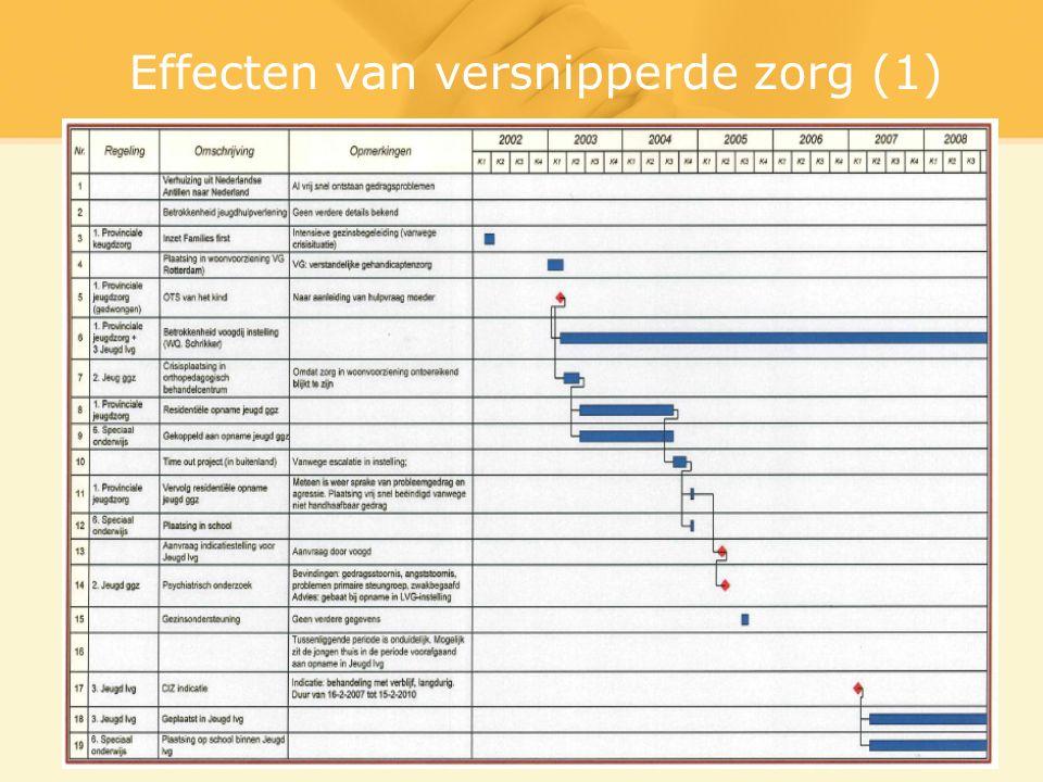 Effecten van versnipperde zorg (1)