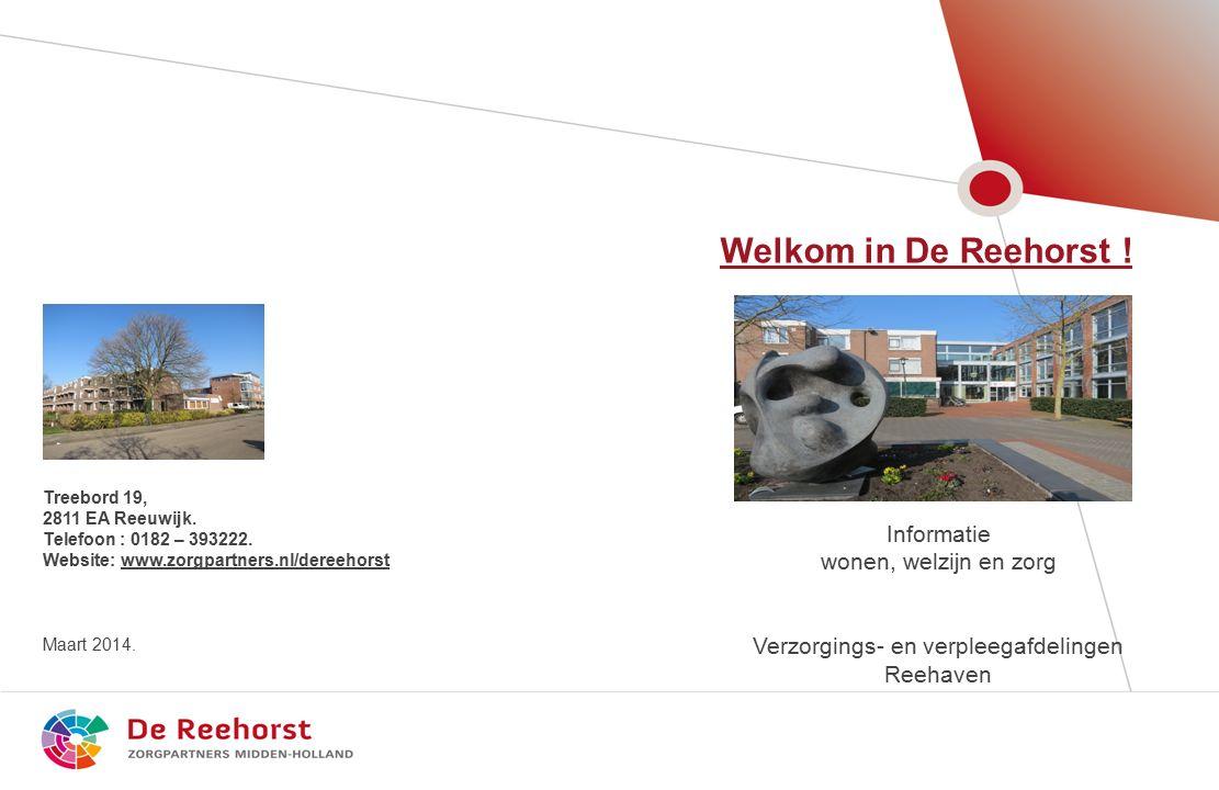 2 Welkom in De Reehorst / Reehaven .